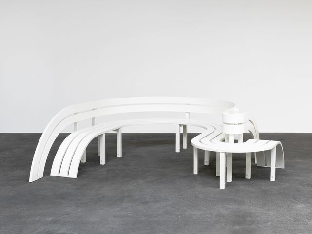 Available For Sale From Galleri Nicolai Wallner, Jeppe Hein, Modified  Social Bench 19 (
