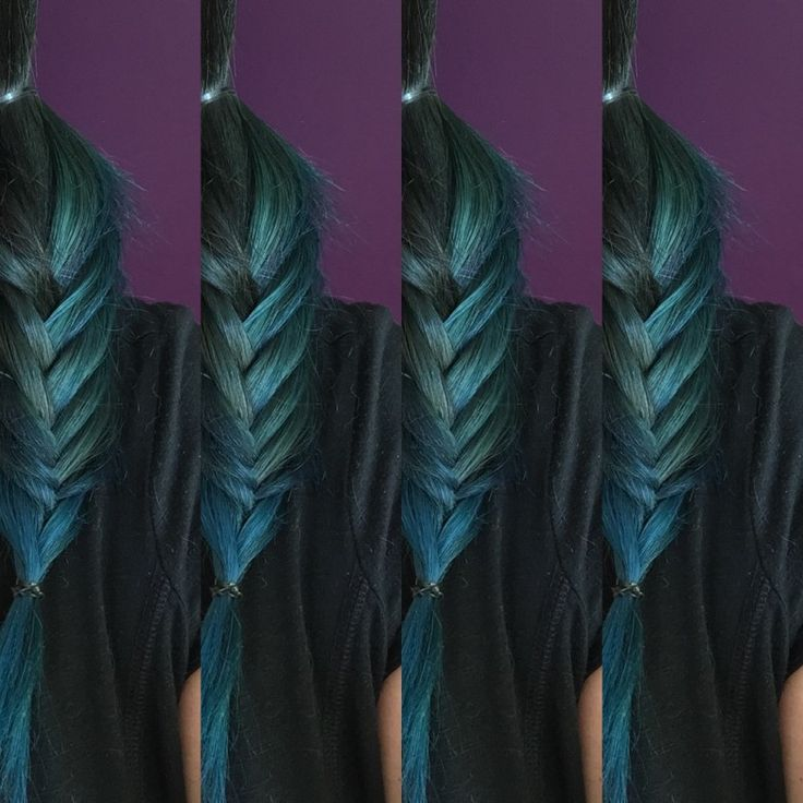 Fifty shades of teal #teal #haircolor #hairstyle #bleu #green