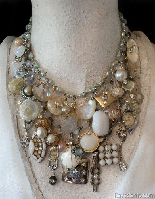 """Another great idea for all those keepsakes.  I'm going to do this with my mom's and grandmother's """"pretties"""""""