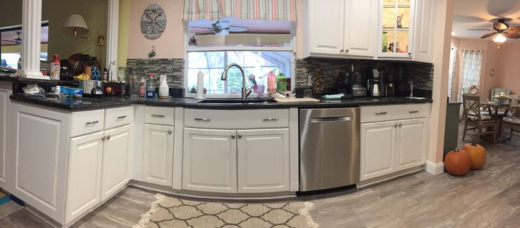 Just Finished These Kitchen Cabinets Located In Jensen Beach