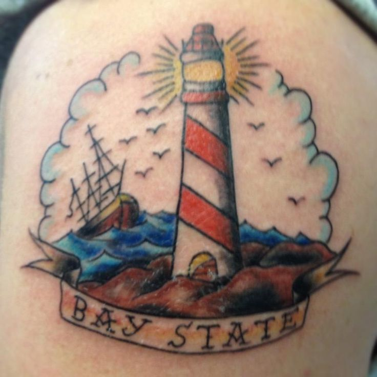 1000 ideas about traditional lighthouse tattoo on for Painful pleasures tattoo