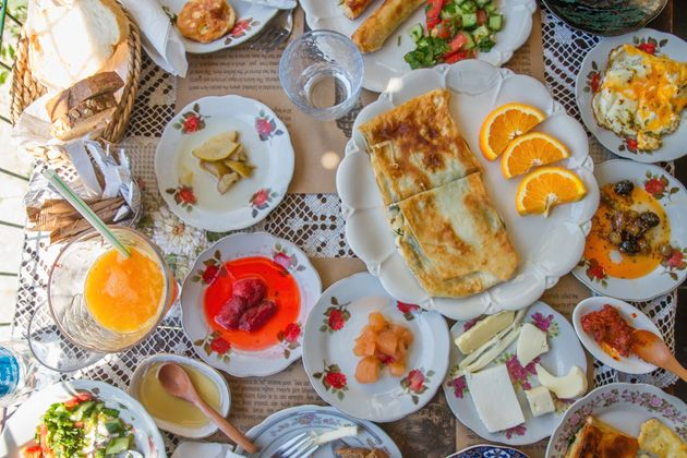 Breakfast in Turkey >> YUM