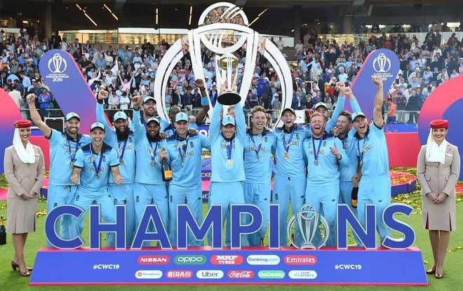 In Cricket World Cup History Yesterday Match Between New Zealand And England Was So Thrilling Especially The Last Three Overs Engla World Cup Trophy Cricket World Cup World Cup