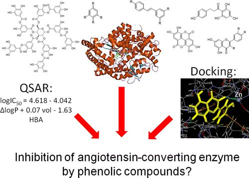 Angiotensin-Converting Enzyme Inhibitory Effects by Plant Phenolic Compounds: A Study of Structure Activity Relationships