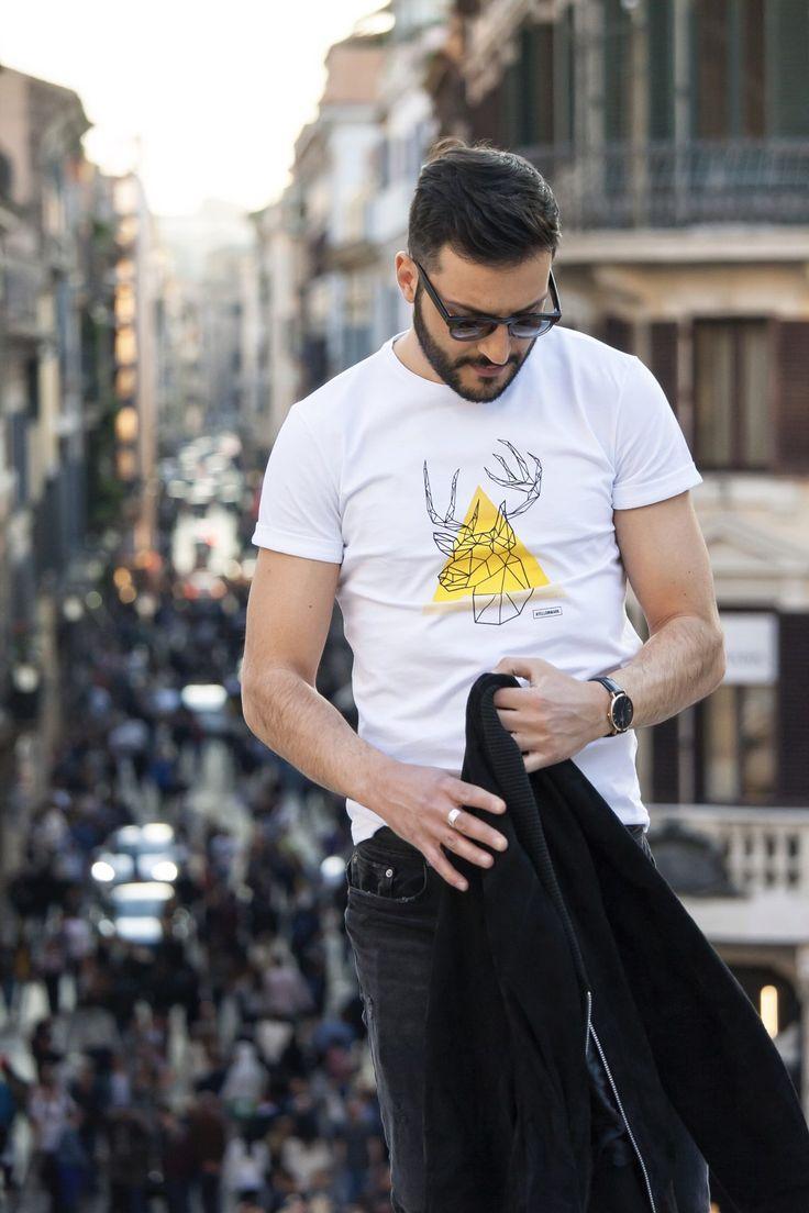 #AyellowmarkTshirt #men #madeinitaly #tshirt #ayellowmark // #fashion