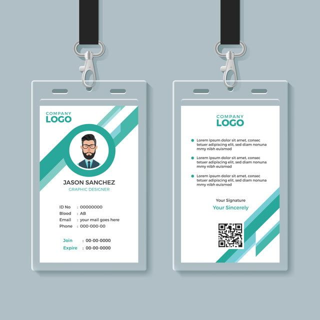 Id Card Identity Business Corporate Design Template Mockup Employee Staff Background Company Confer Identity Card Design Create Business Cards Company Identity