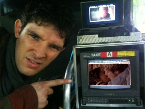 his face. he is making that face because Merthur <3