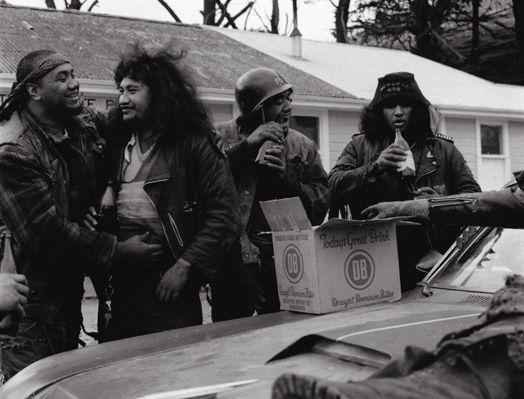 Mongrel Mob, Porirua 1982.