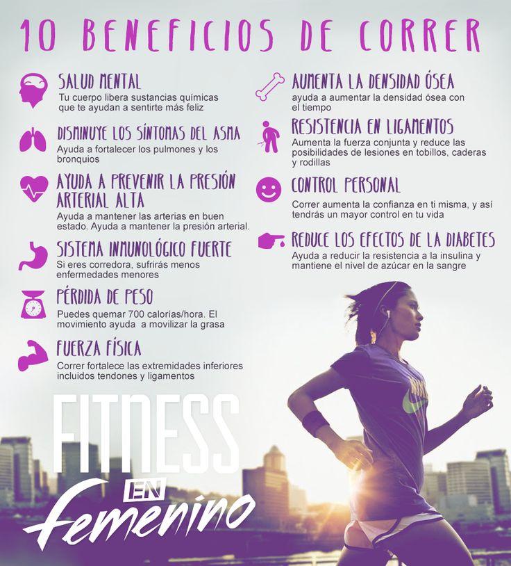 Los beneficios de correr, para el cuerpo y la salud