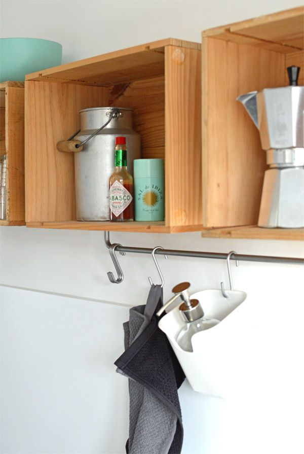 184 best Regale images on Pinterest Shelving brackets, Bathrooms - k chenregal selber bauen