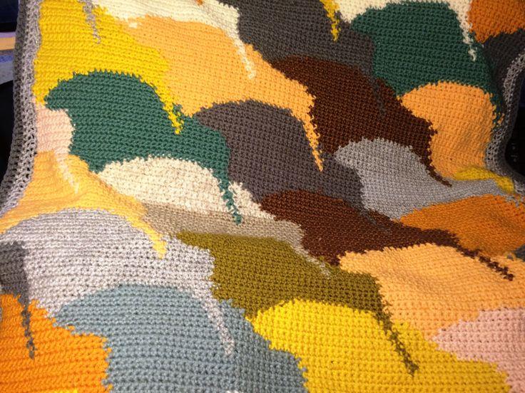 Kiwi Crochet Blanket Pattern by KraftyKiwis on Etsy