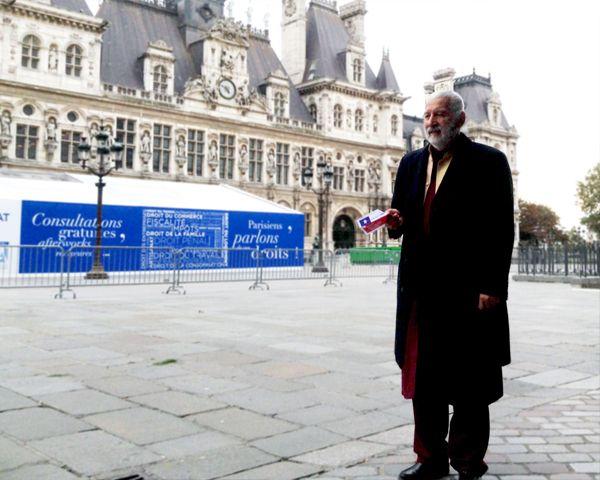 Haz tu voto volar y Alfredo Sfeir en Paris, comprometidos con sufragio de chilenos en el extranjero