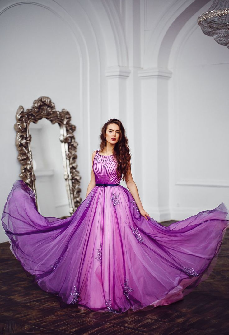 >> Click to Buy << Light Purple Tulle Beading Sleeves A Line Floor Length Formal Evening Dresses Long For Wedding Party #Affiliate