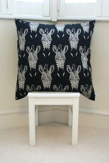 Zebra Cushion - £20.00
