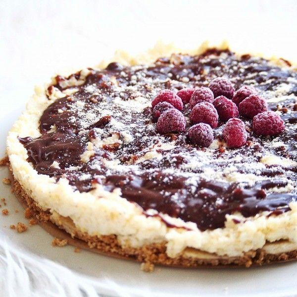 Wegańskie ciasto. Prosty jagielnik tylko z 3 składników. Bez pieczenia :)