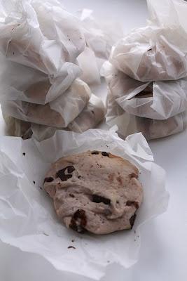 Healthy meal: Розовое печенье с шоколадом