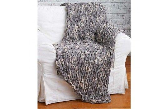 Bernat Arm Knit Blanket