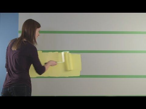 How To Paint Stripes on a Wall - Sherwin-Williams - divide by odd number so outside edges are the same color.