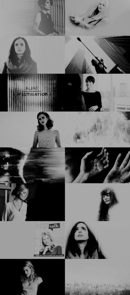 Ladies of Aka Jessica Jones #marvel #netflix tumblr #jessicajones