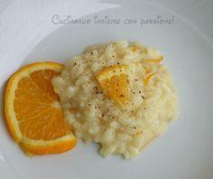 Risotto con arancia e taleggio - Cucinando insieme con passione