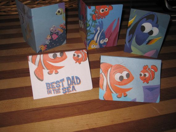 Finding Nemo Debit card wallet or gift card holder by LizziesRightBrain, $3.99.  Super for Disney cruise vacation or FE gift!