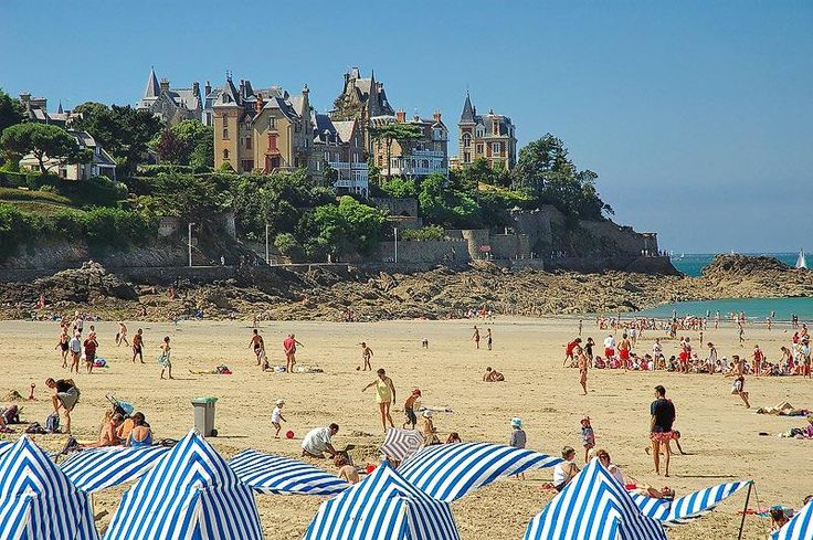 Dinard - France. We liked Dinard so much we considered getting a pied d'terre there. #french travel memories, #french travel