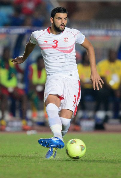 Youssef Siam Ben of Tunisia in action during the FIFA 2014 World Cup qualifier at the Stade Olympique de Radès on October 13, 2013 in Rades, Tunisia.