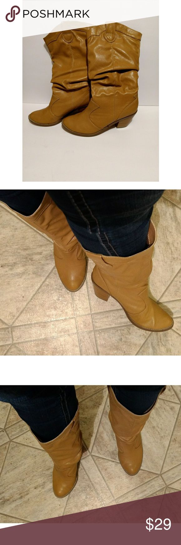 Rue 21 Boots Great Condition! Great Condition Rue 21  Tan Boots Size 10 Rue 21 Shoes Winter & Rain Boots