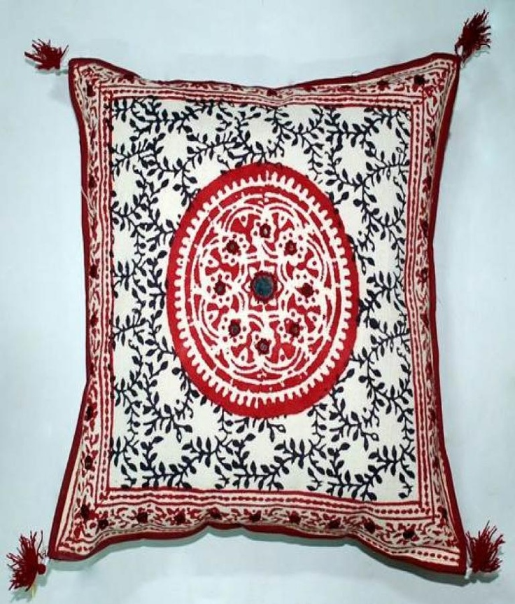 Villcart Cushion Cover  Block Print Cushion Cover  Offer Price Rs.210/-