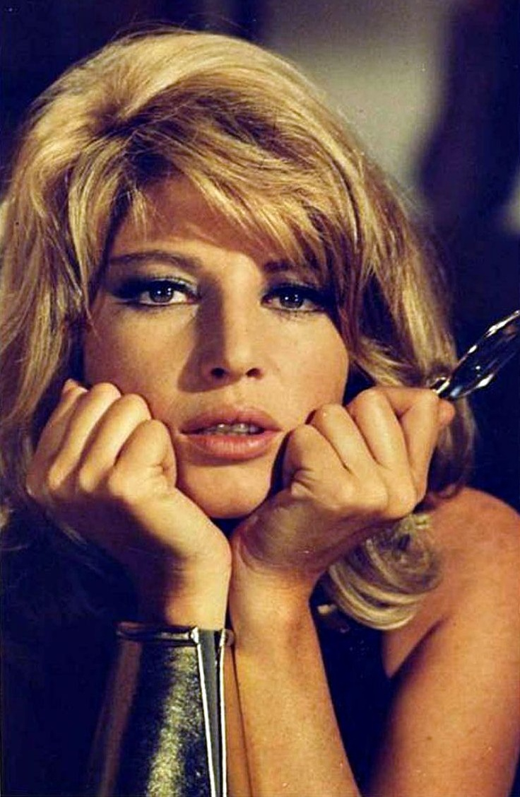 """Monica Vitti ...most famous in American Pop Film culture as """"Modesty Blaise"""" (female crimefighter) circa the 1960's. Q. Tarentino did a remake of her movie called """"My Name is Modesty""""???.."""