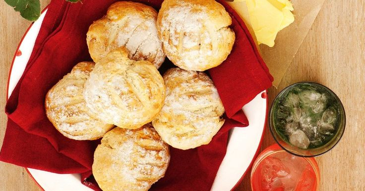 These little dampers take on an Australian twist with the native flavour of lemon myrtle.