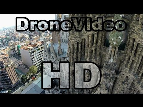 Amazing Drone video from Barcelona (Spain)! HD