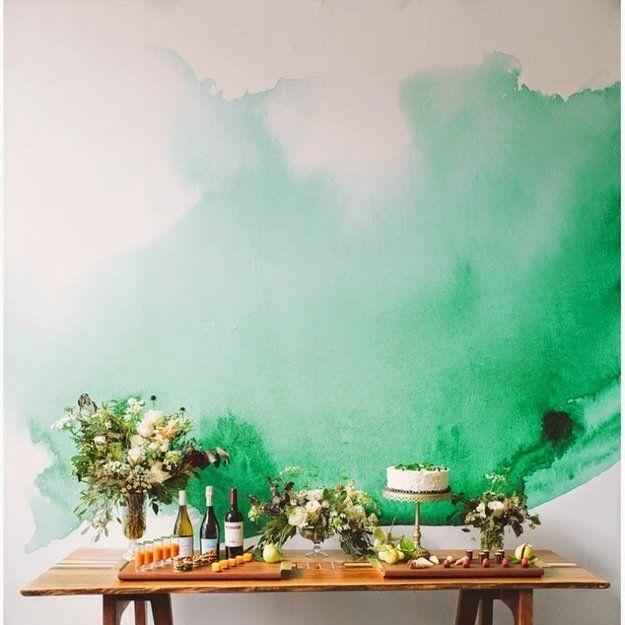 Акварельные обои: эпоха импрессионизма у вас дома