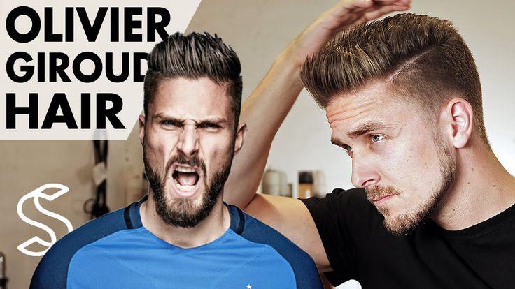 Olivier Giroud Hairstyle ★ Arsenal Footballer ★ Short Men Hair Barber
