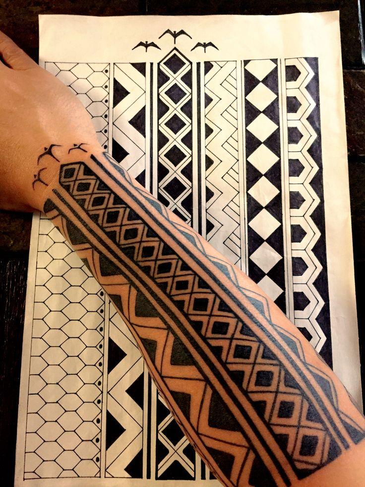 Filipino Tattoos  Visayan Labid design