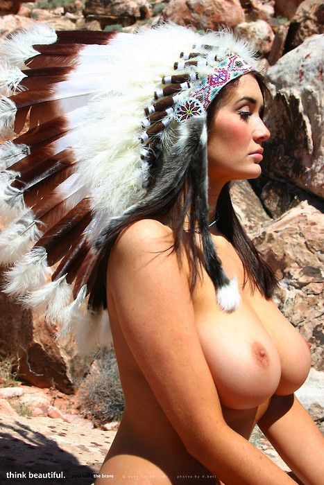 Beautiful native american women naked