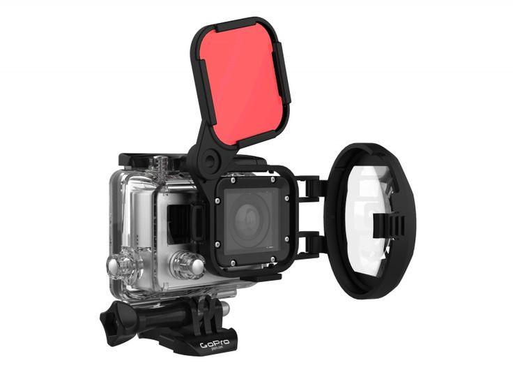PolarPro Switchblade 2.0 voor Hero3 (SWCH2-H3)  Description: De PolarPro Switchblade 2.0 is een geweldige duik accessoire voor de GoPro duiker. Het combineert een macro lens en een rood filter welke het een van de meest veelzijdige GoPro filters op de markt maakt. De nieuwe Ultra-macro-objectief biedt een vergroting van 10x wat een onderwater scherpstelafstand van7.5 tot ruim 20 centimeter betekend en boven water scherpstelafstand vanbijna 4totruim 12.5centimeter. De macro is ongelooflijk…