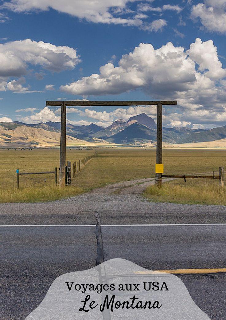 Le Montana, sauvage, si loin de tout... des hautes montagnes, le parc Glacier mais aussi des bisons et des ranchs !