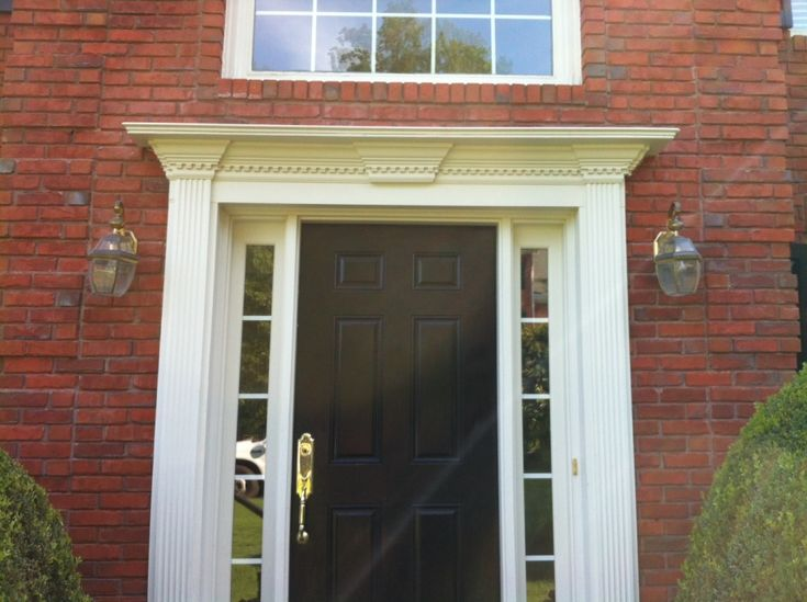 Exterior Door Trim Simple fine exterior door trim simple window for design