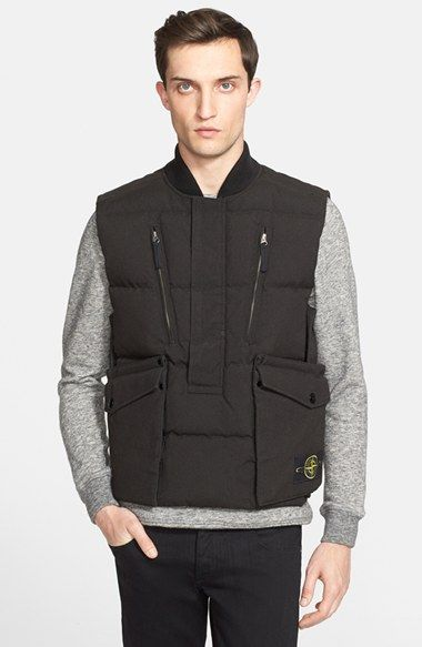 Stone Island 'Side Entry' Gilet available at #Nordstrom