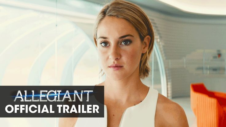"""The Divergent Series: Allegiant Official Teaser Trailer – """"Beyond The Wall"""""""