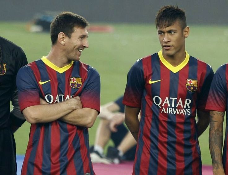 The Legend Lionel Messi: Neymar: my relationship with Messi sparked many of...