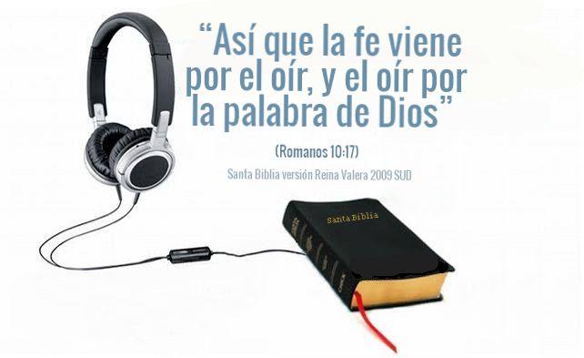 El Matrimonio Biblia Reina Valera : Quot así que la fe viene por el oír y palabra