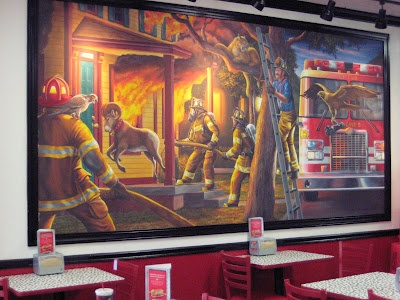 74 Best Public Art Murals Firehouse Subs Resturant