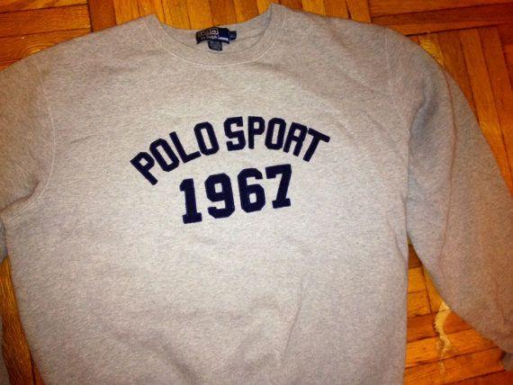 Vintage 90s POLO Sport  RALPH LAUREN 1967 Jumper by FisforFRESH, $49.00