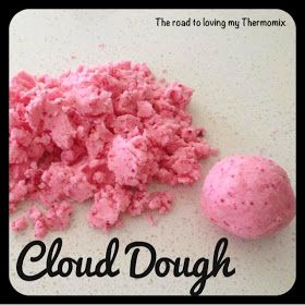 The road to loving my Thermomix: Cloud Dough