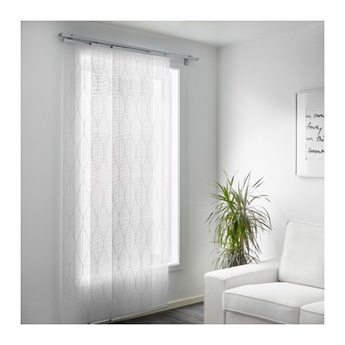 best 25 ikea panel curtains ideas on pinterest panel curtains curtains or blinds for sliding. Black Bedroom Furniture Sets. Home Design Ideas