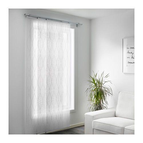 best 25 ikea panel curtains ideas on pinterest panel. Black Bedroom Furniture Sets. Home Design Ideas
