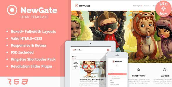 NewGate - Agency/Business HTML5 Template