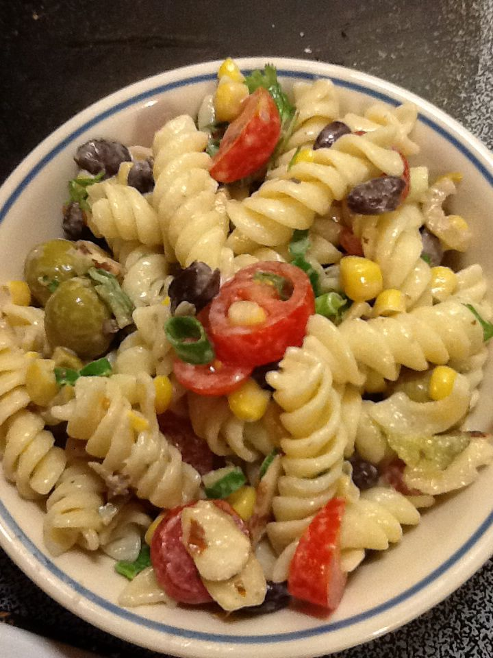 The best pasta salad ever i made from pioner women for Best summer pasta salad recipes ever
